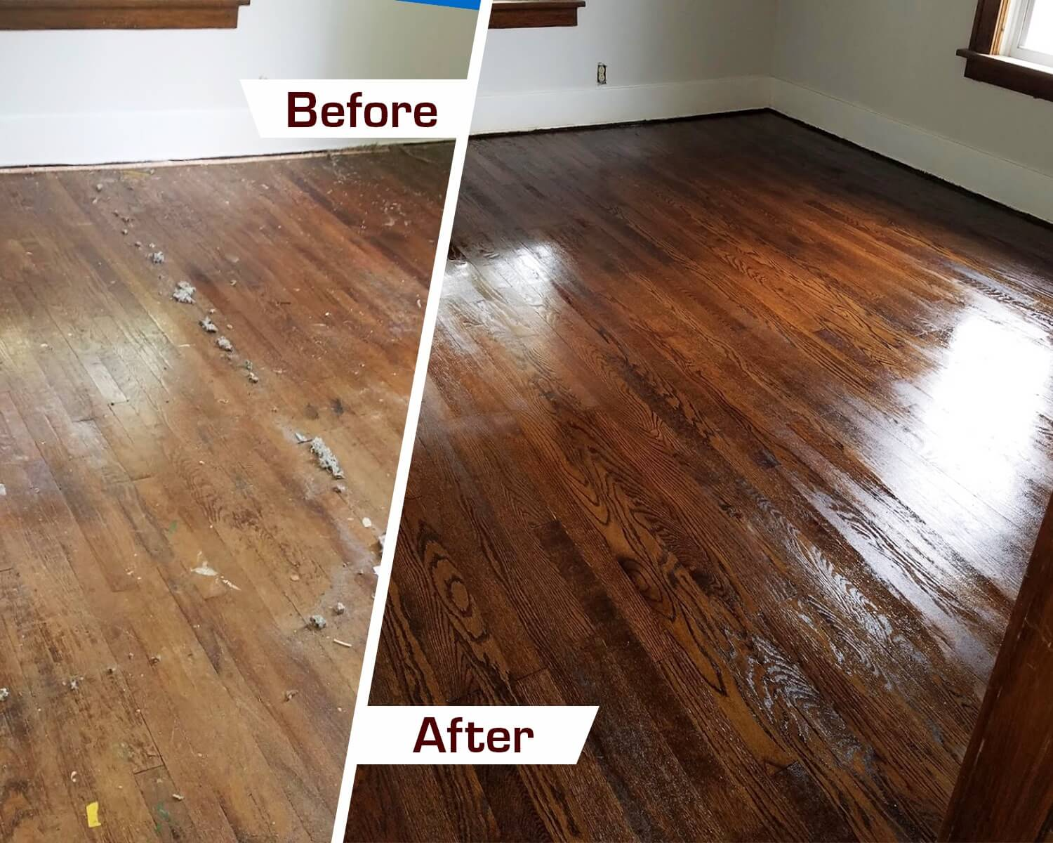 wood floor transformation pic