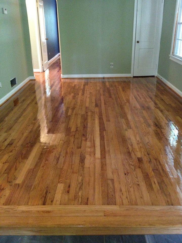 after hardwood floor resurfacing
